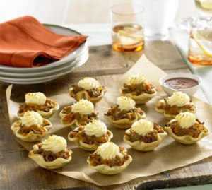 Mini Turkey Potato Top Pies
