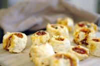 Ham and Cheese Scrolls