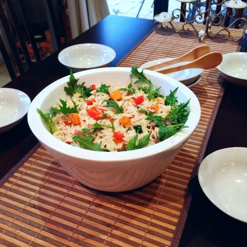 Risoni and Pumpkin Salad