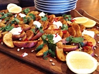 Spice Roasted Potato Wedges