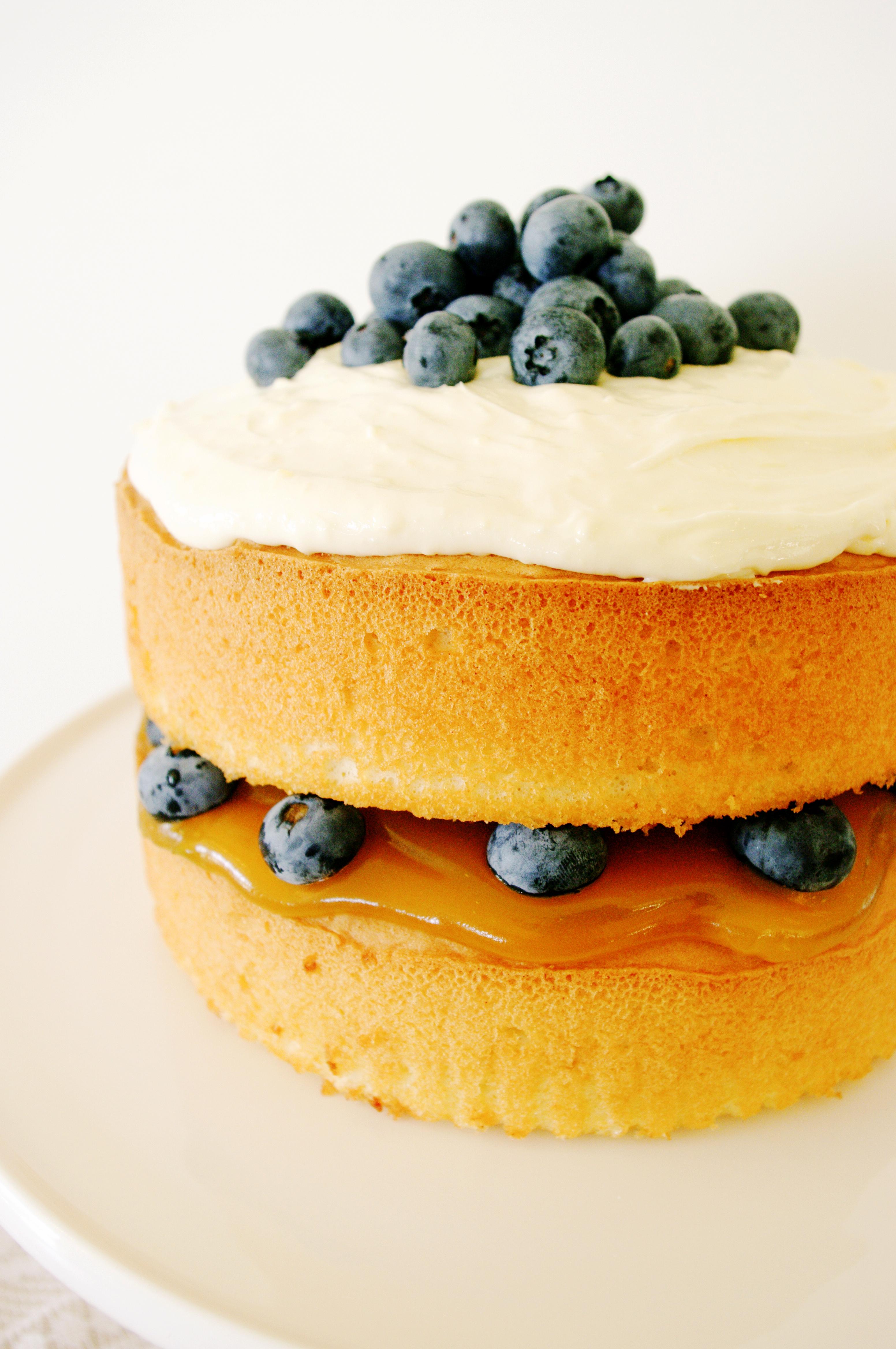 Layered Lemon Sponge Cake Recipe