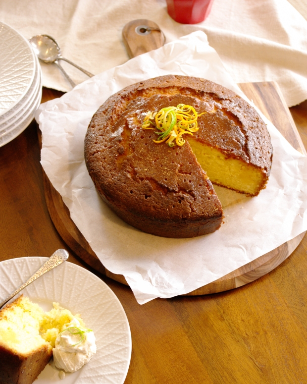 Orange Syrup Cake