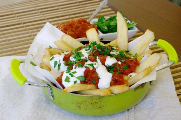Potato with Spicy Tomato Sauce