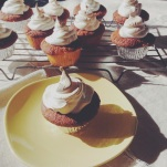 Passionfruit Meringue Cupcake