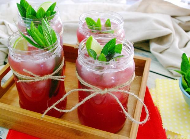 Raspberry Jam Cocktail