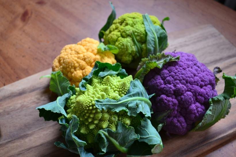 Multi Coloured Cauliflowe