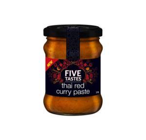 Five Tastes Thai Red Curry Paste