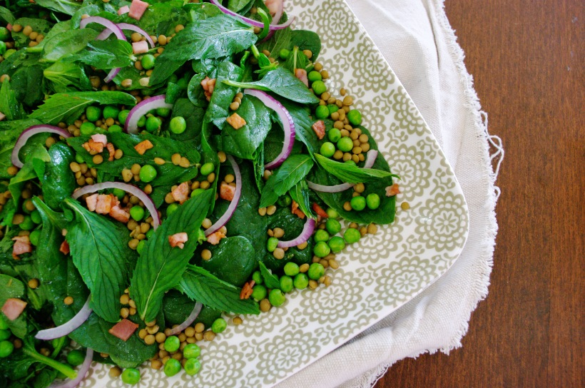 Pea and Lentil Salad