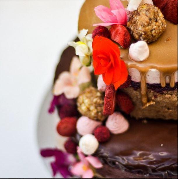 Sadhana Kitchen - raw, gluten free, sugar free, vegan cake