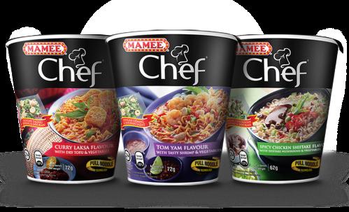 Mamee Chef Noodle Range