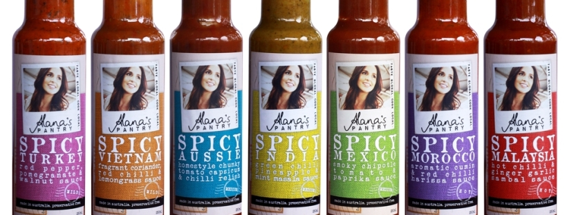 Alana's Pantry, Spicy Sauces