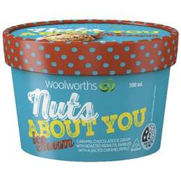 Woolworths, Nuts About You ice cream