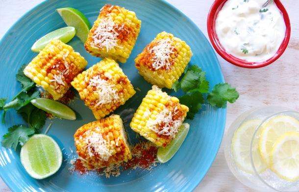 Paprika and Parmesan Corn