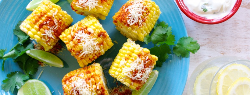 Paprika and Parmesan Corn