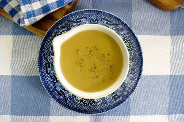 Gravy without pan juices