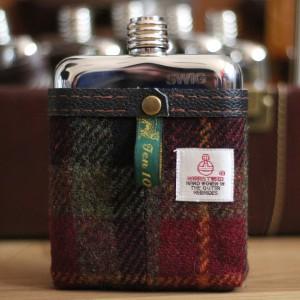 Swig Flasks, Harris Tweed Range