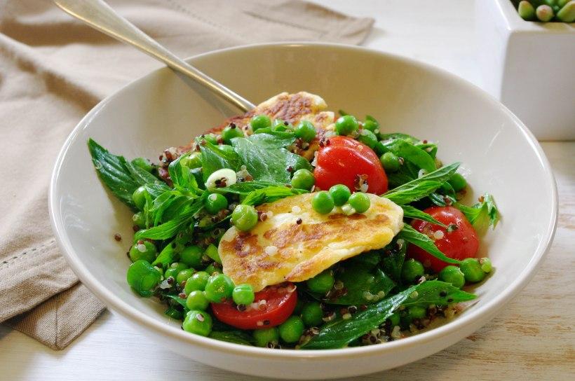 Quinoa and Pea Salad
