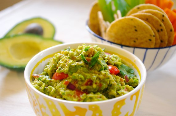 Pea and Avocado Guacamole