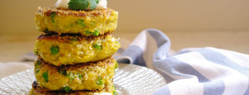 Pea Samosa Patties