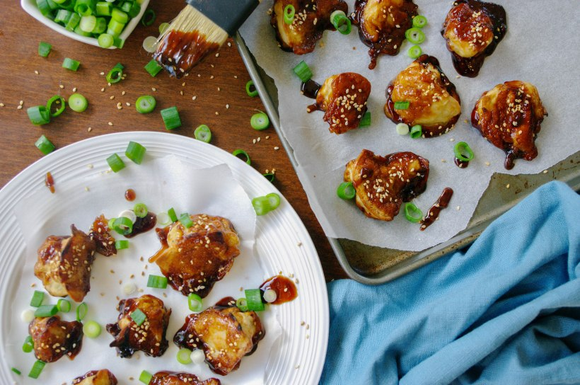 Sweet and Spicy Sesame Cauliflower